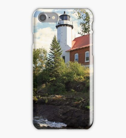 Eagle Harbor Lighthouse iPhone Case/Skin