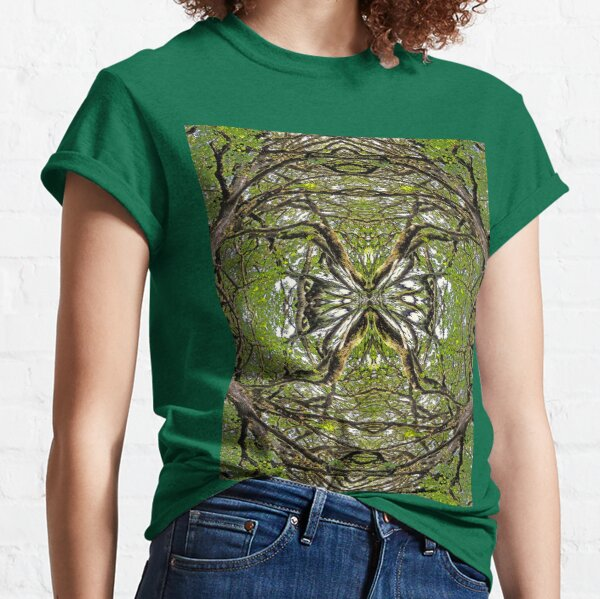 BIG LEAF MAPLE MANDALA 1 Classic T-Shirt
