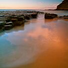 Rocks and water by donnnnnny