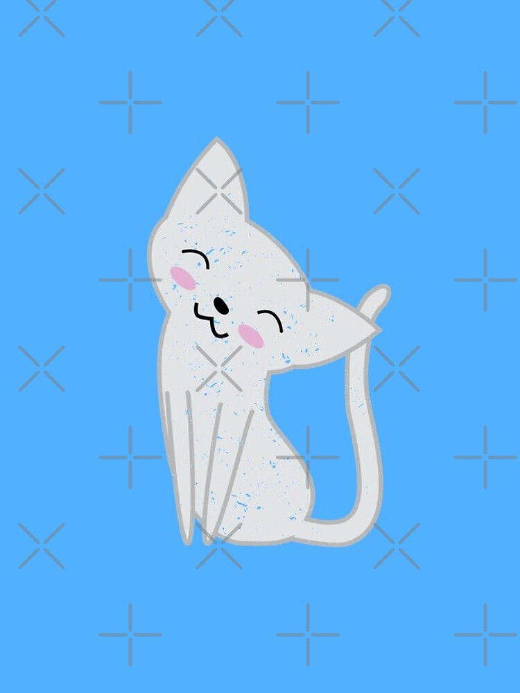 Cute White Cat by SubtleSplit