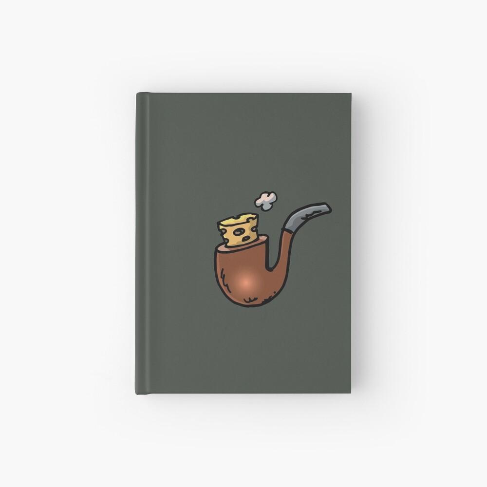 forbidden smoking and smoking pipe clogged with plug Hardcover Journal
