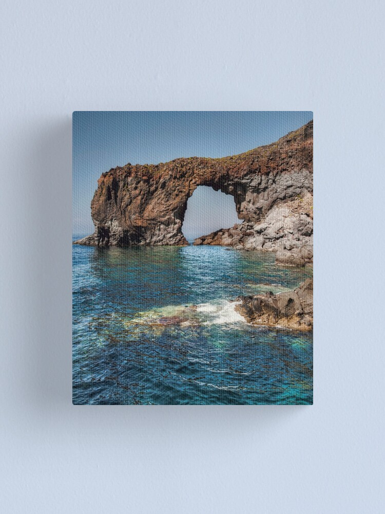Alternate view of L'arco di Pollara Canvas Print