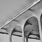 University Theater Detail - OU Campus - Norman, Oklahoma by Crystal Clyburn
