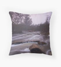 Misty Avon Throw Pillow