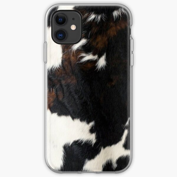 Cowhide Leather iPhone Soft Case