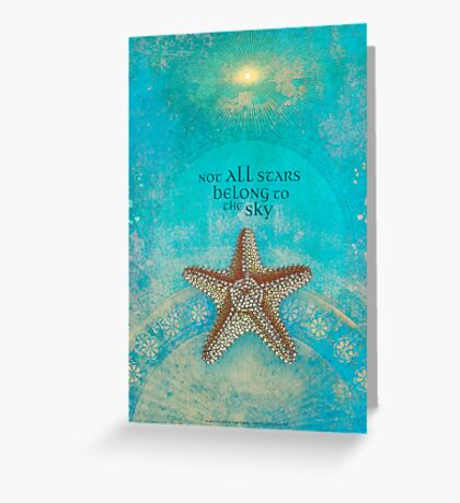 Not All Stars Belong to the Sky Greeting Card
