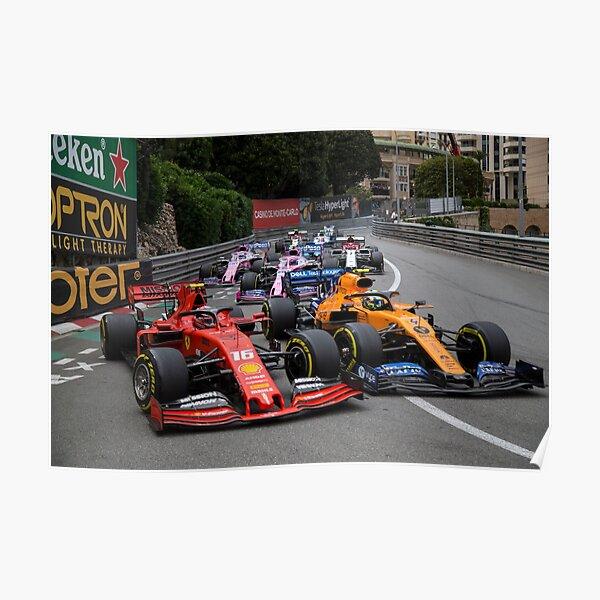 Formel-1-Kampf Poster