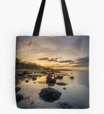 Woodside Bay Beach Tote Bag