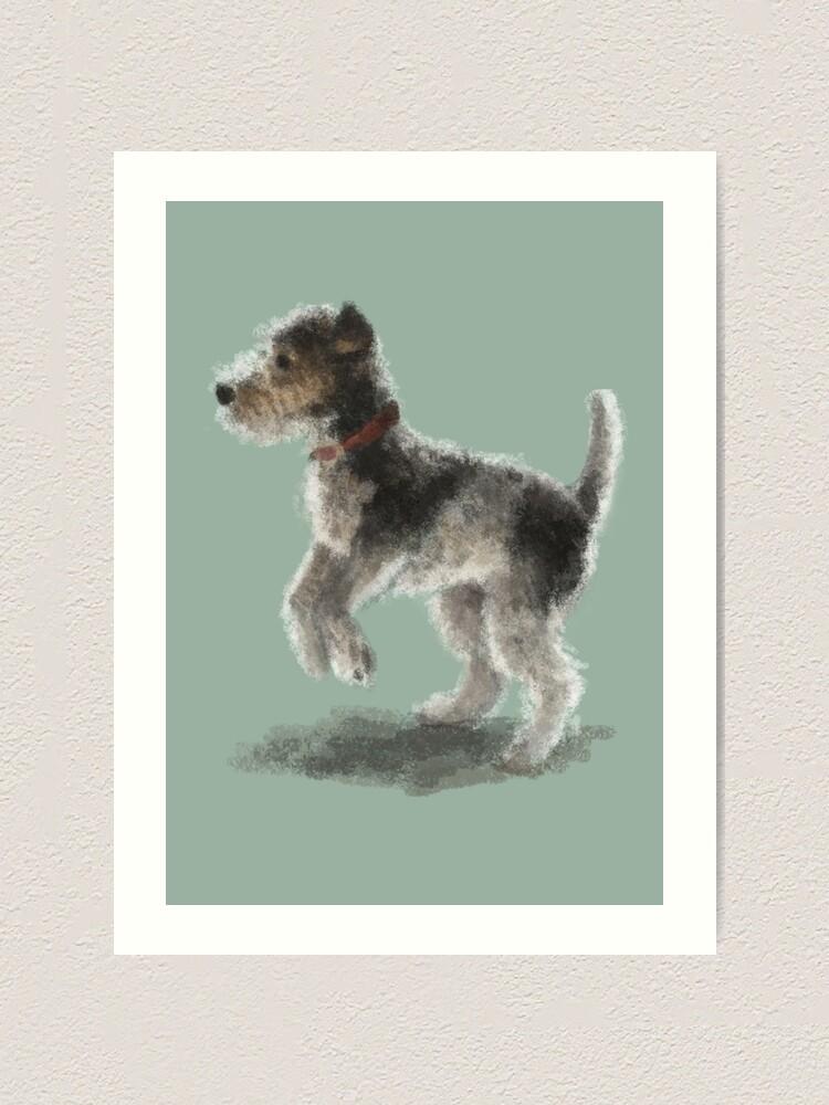 Alternate view of Fox Terrier Art Print
