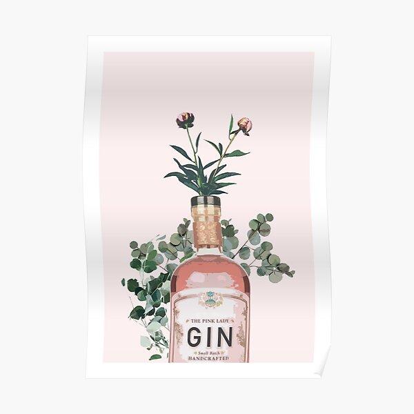 Pink Gin Artwork Poster