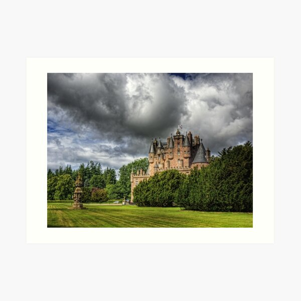 Glamis Castle - Scotland Art Print