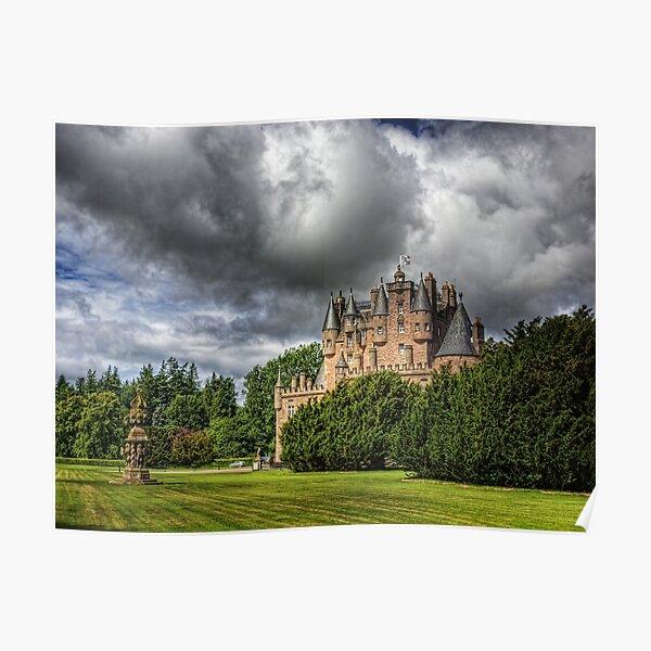 Glamis Castle - Scotland Poster