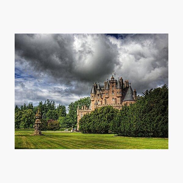 Glamis Castle - Scotland Photographic Print