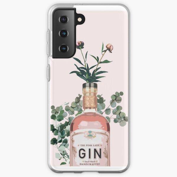 Pink Gin Artwork Samsung Galaxy Soft Case