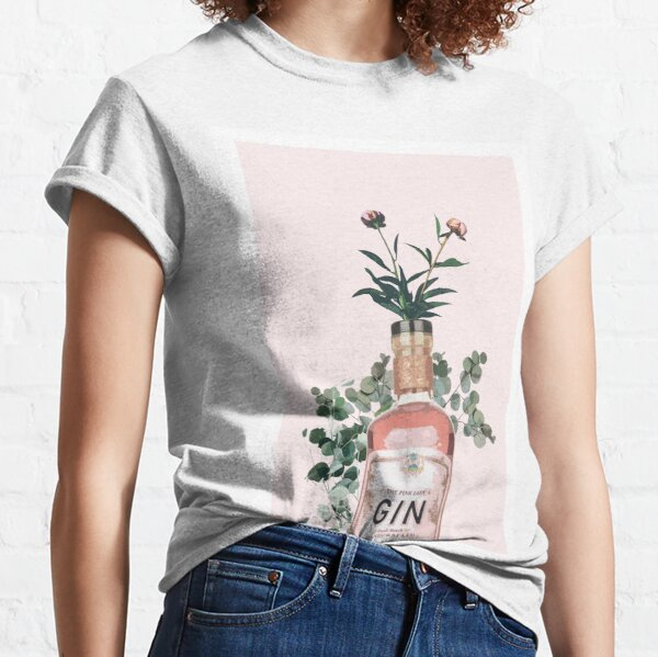 Pink Gin Artwork Classic T-Shirt