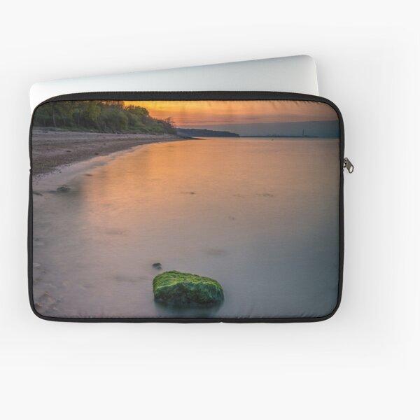 Rocky Woodside Bay Beach Isle Of Wight Laptop Sleeve