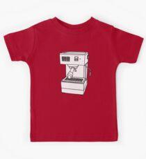 Espresso Machine Doodle Kids Tee