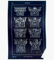 A Handbook Of Ornament With Three Hundred Plates Franz Sales Meyer 1896 0232 Supports Pilaster Capital Inverted Poster