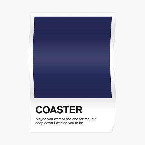 Coaster Pantone Poster