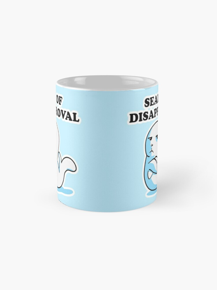 Alternate view of Seal of Disapproval Mug