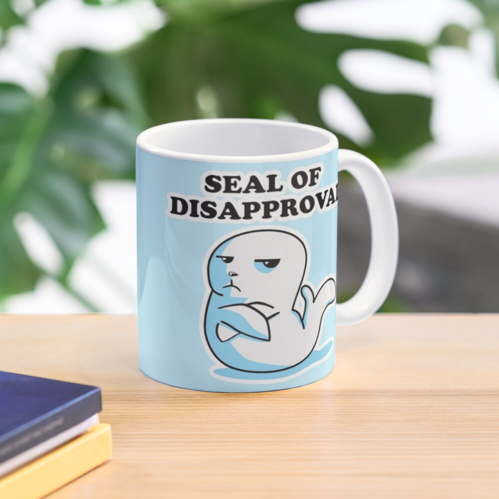 Seal of Disapproval Mug