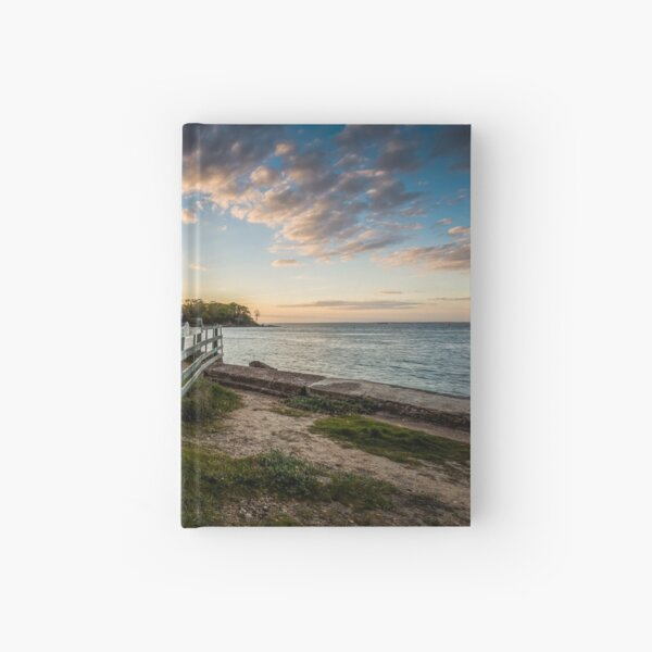 Fishbourne Sunset Isle Of Wight Hardcover Journal