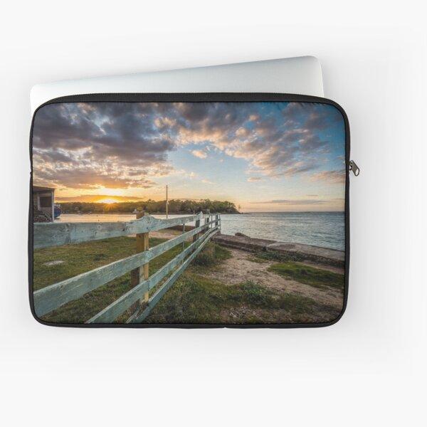 Fishbourne Sunset Isle Of Wight Laptop Sleeve