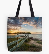 Fishbourne Sunset Isle Of Wight Tote Bag