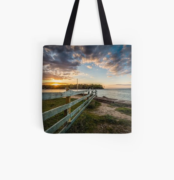 Fishbourne Sunset Isle Of Wight All Over Print Tote Bag