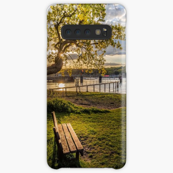 Seat Beside The Creek Fishbourne Isle Of Wight Samsung Galaxy Snap Case