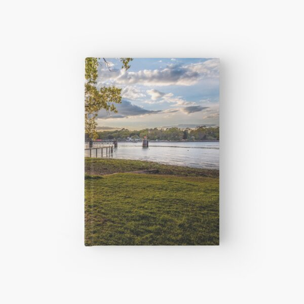 Seat Beside The Creek Fishbourne Isle Of Wight Hardcover Journal