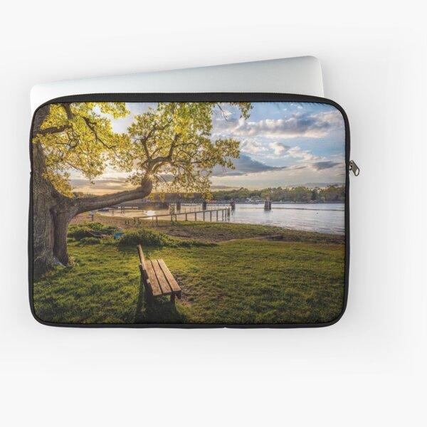 Seat Beside The Creek Fishbourne Isle Of Wight Laptop Sleeve