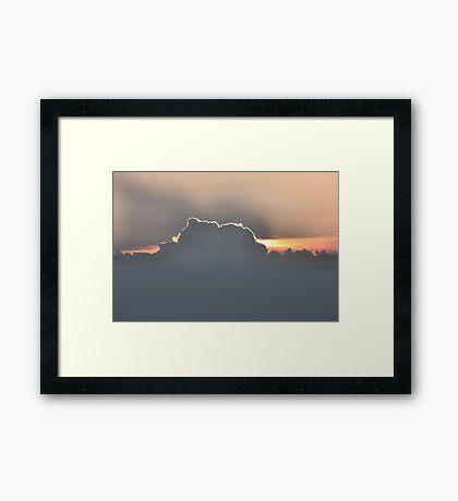 Sunset Prelude  Framed Print