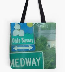 Medway: A short bio and an Ohio Scenic Byway  Tote Bag