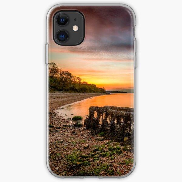 Woodside Beach Sunset Isle Of Wight iPhone Soft Case
