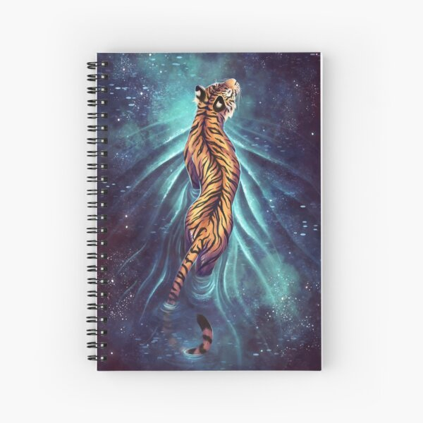 Walk amongst the Stars Spiral Notebook