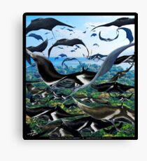 Ocean Invasion #7: The Great Migration Canvas Print