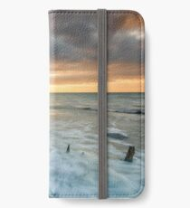 Woodside Beach Surf Sunset Isle Of Wight iPhone Wallet/Case/Skin