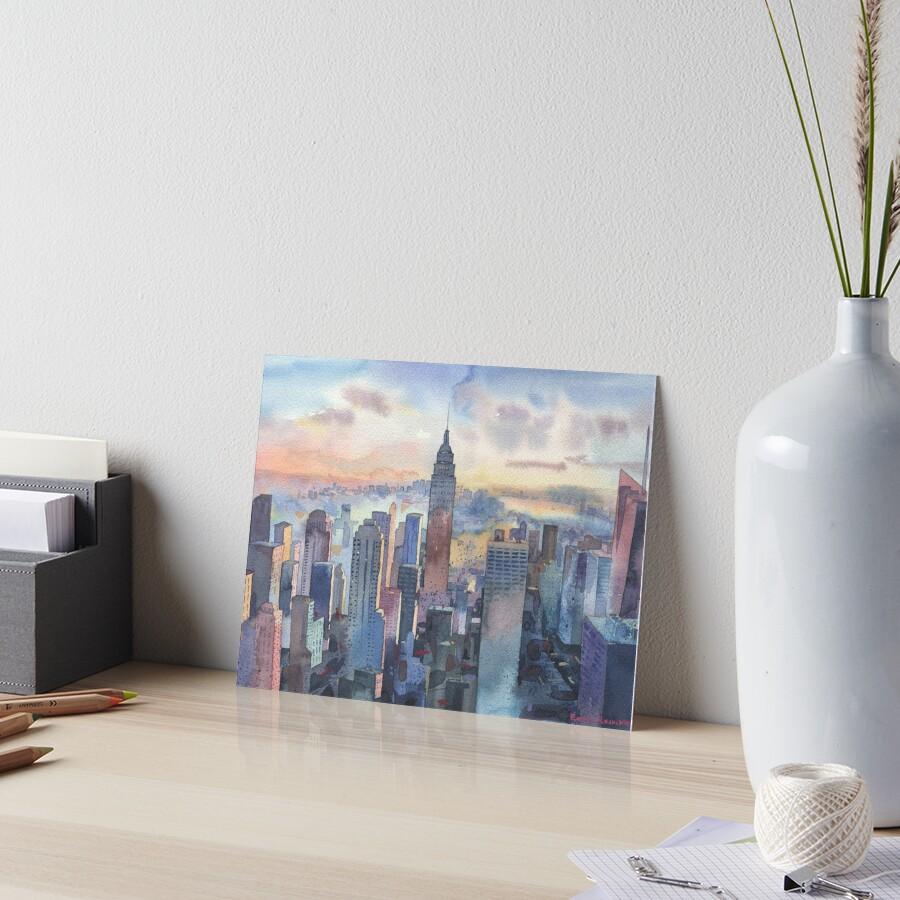 New York Art Board Print
