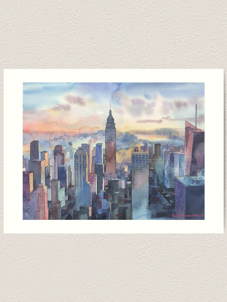 Alternate view of New York Art Print