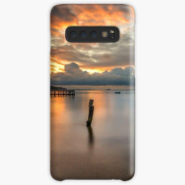 Woodside Retreat Sunset Isle Of Wight Samsung Galaxy Snap Case