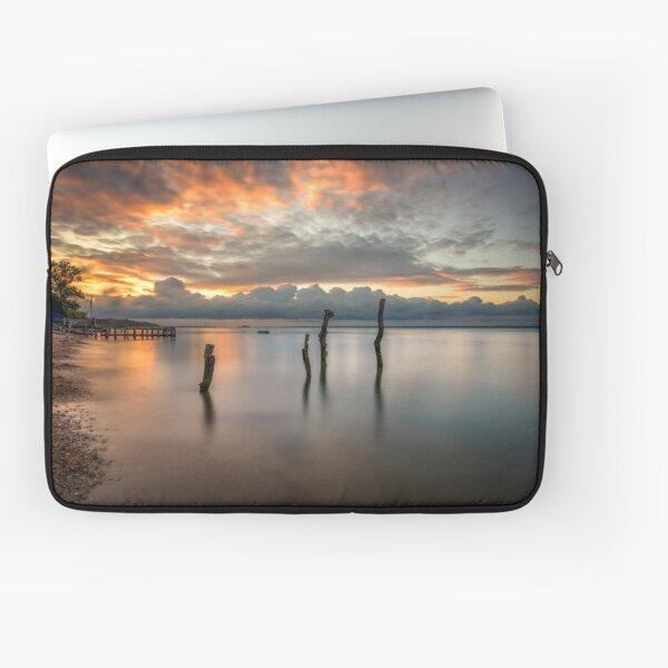 Woodside Retreat Sunset Isle Of Wight Laptop Sleeve
