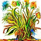 Flower doodle by skycat