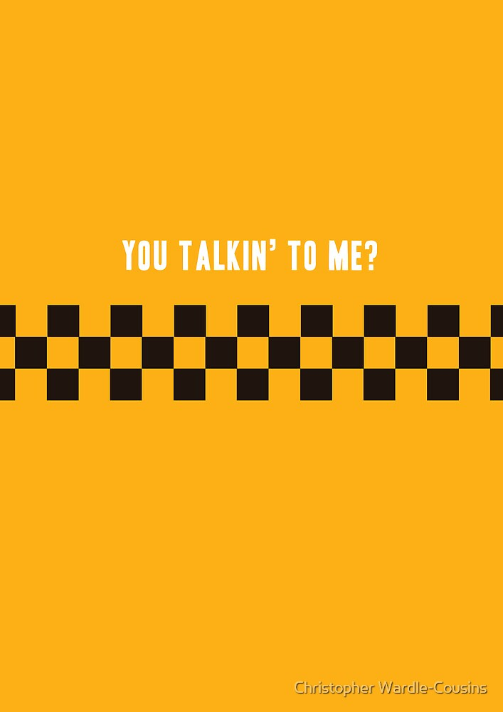 Taxi Driver by Christopher Wardle-Cousins
