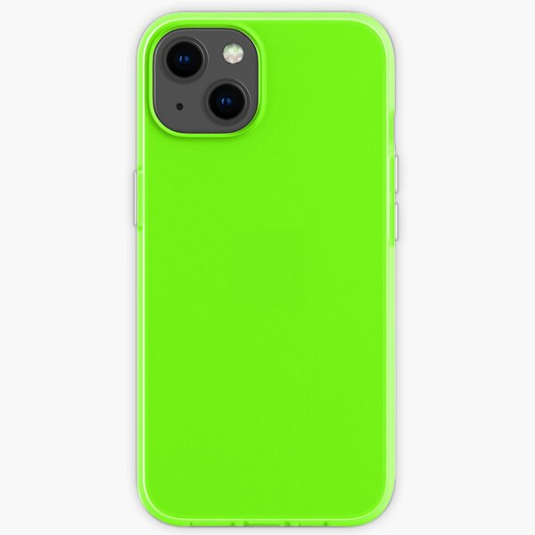 Super Bright Fluorescent Green Neon iPhone Soft Case