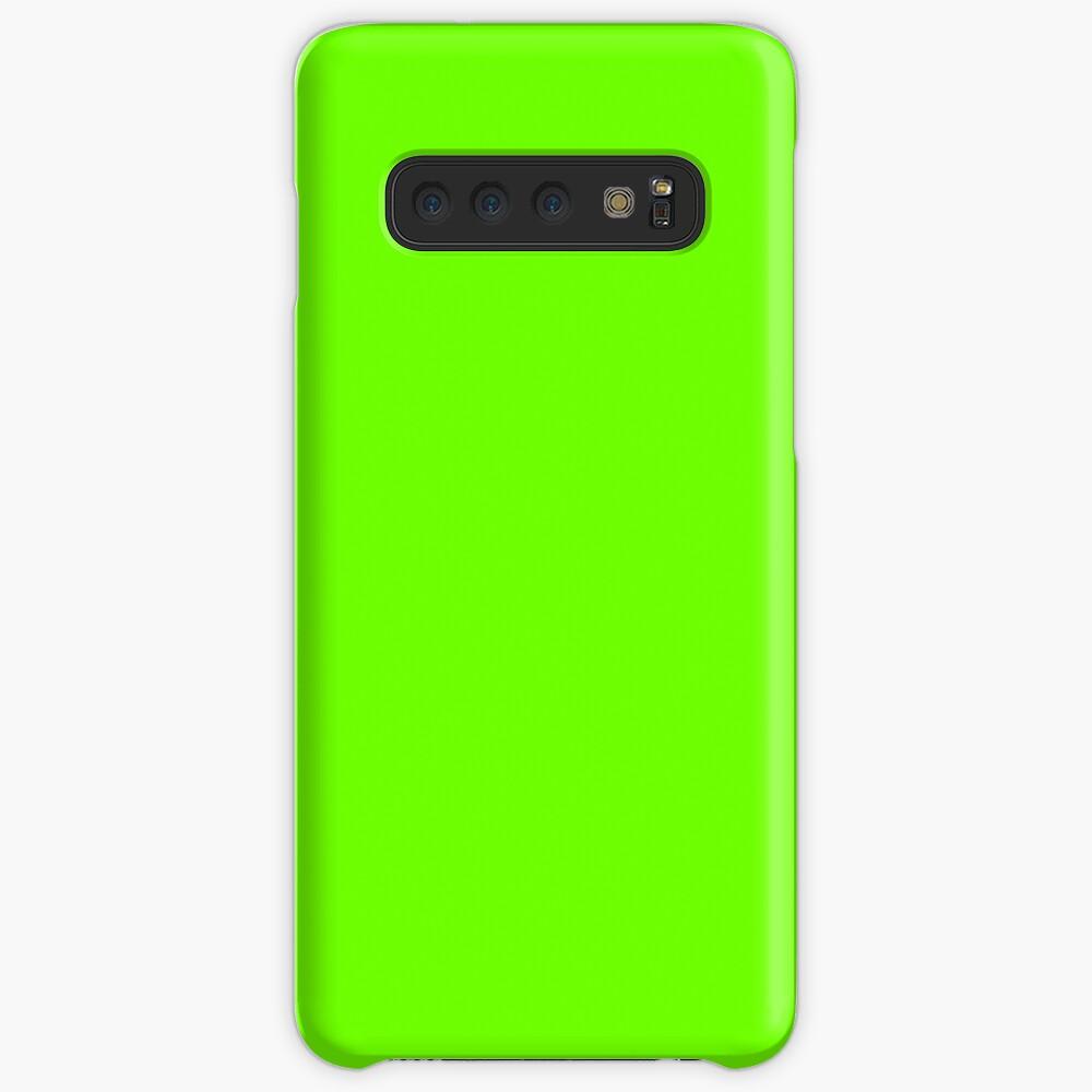 Super Bright Fluorescent Green Neon Case & Skin for Samsung Galaxy