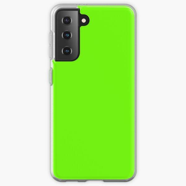 Super Bright Fluorescent Green Neon Samsung Galaxy Soft Case
