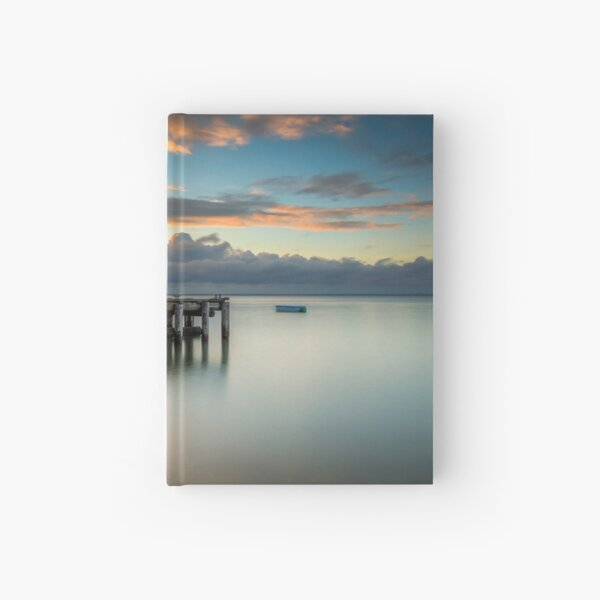 Woodside Jetty Sunset Isle Of Wight Hardcover Journal