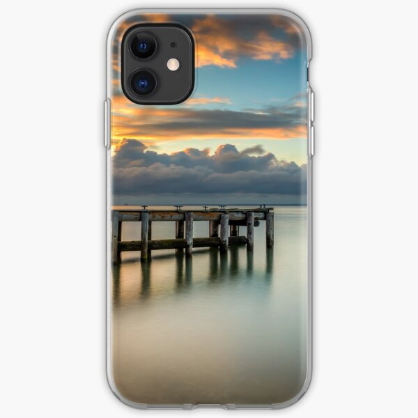 Woodside Jetty Sunset Isle Of Wight iPhone Soft Case