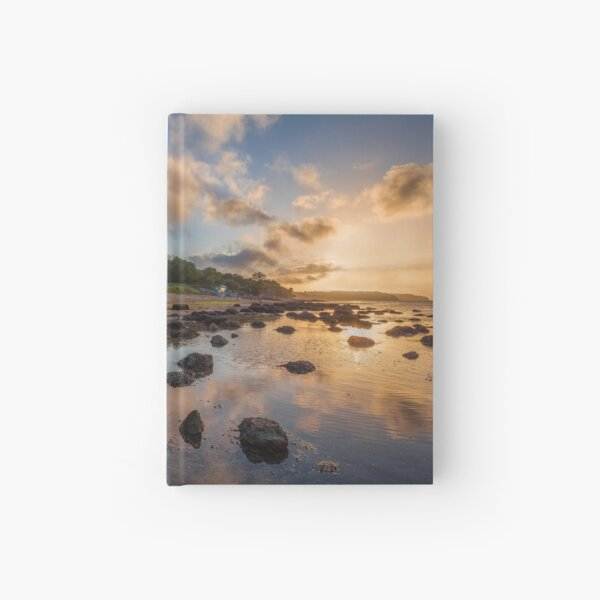 Woodside Lodge Retreat Sunset Isle Of Wight Hardcover Journal